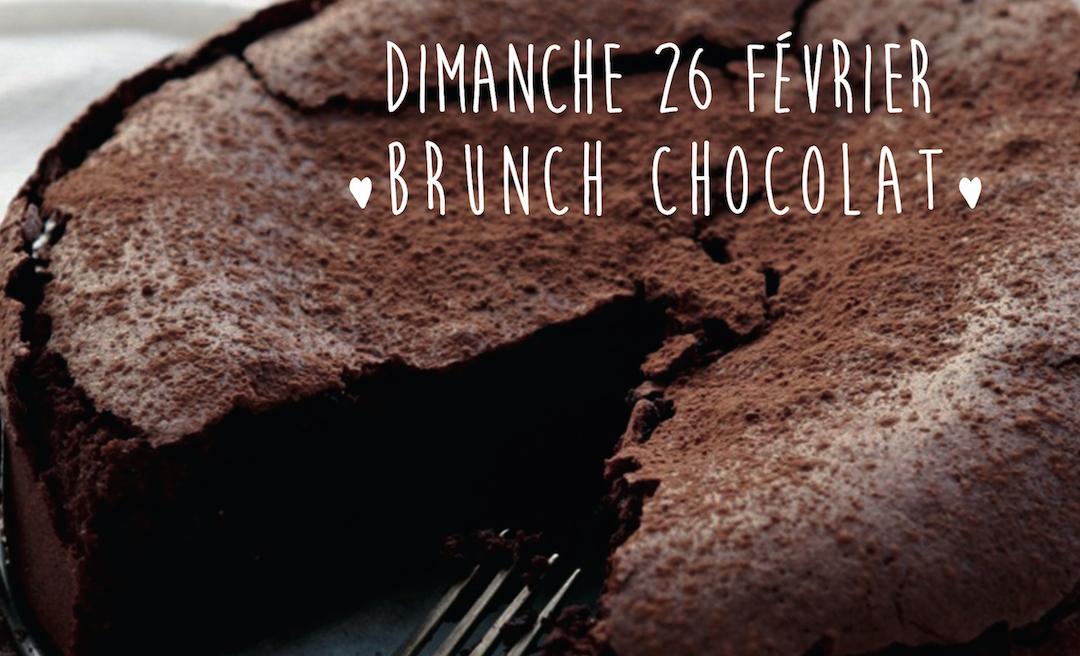Brunch spécial chocolat